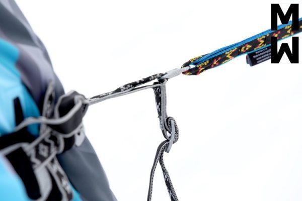 байджоринг въже с един карабинер