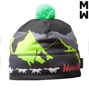 шапка манмат зелена